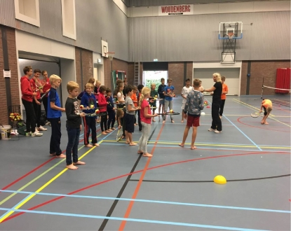 Kidscamp tennis